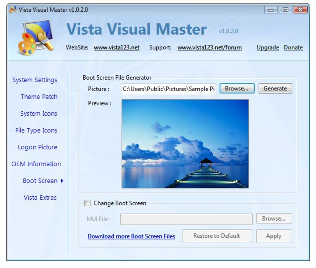 vista-visual-master-screenshot