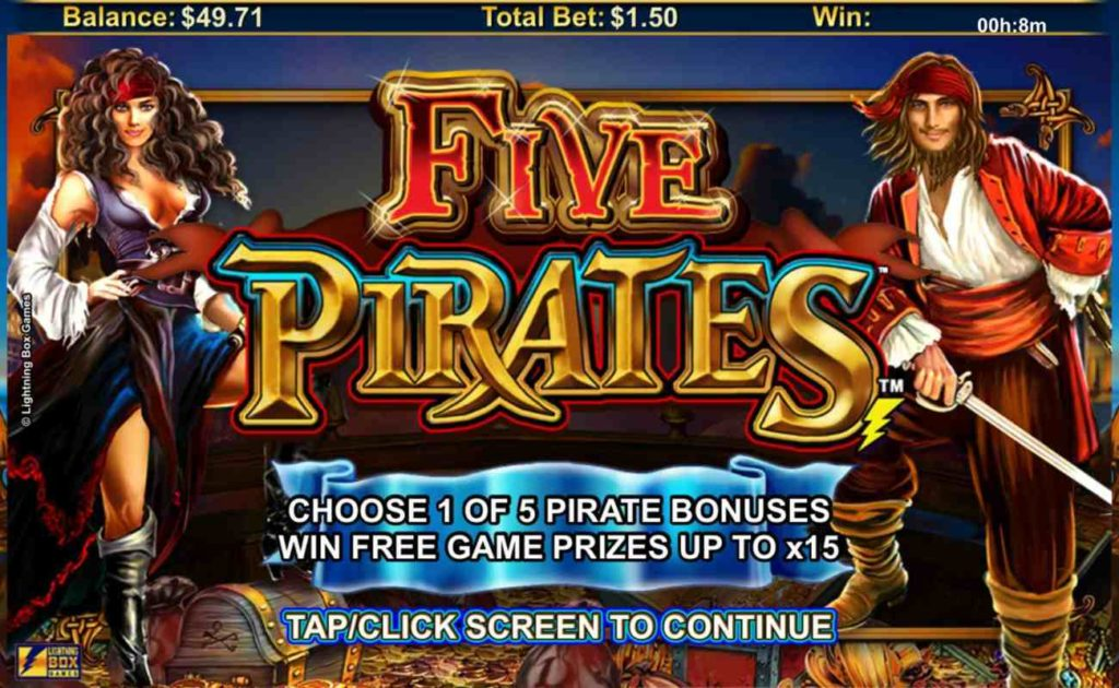 Ini Dia Game Terbaru Slot Five Pirates