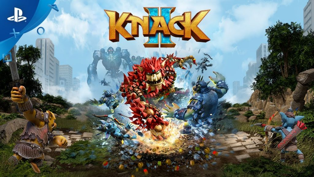 Knack 2 Game Review: High Quality In New Interesting Conflict Story