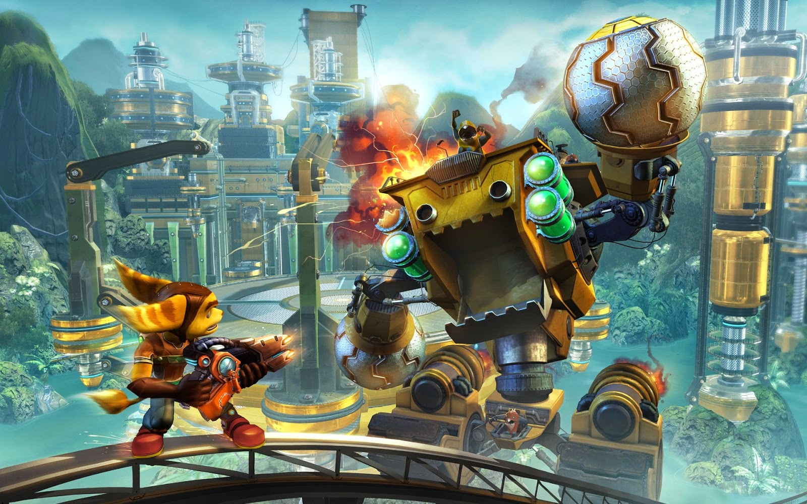 Ratchet & Clank Game Review