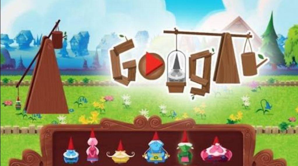 Google Doodle Garden Gnomes